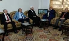 حمدان زار المفتي قبلان: المطلوب حلول جذرية تبدأ باستعادة الأموال المنهوبة