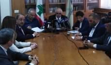 القصيفي: نقابة المحررين منبر مفتوح للجميع ولبنان بحاجة لدعم دولي للخروج من أزماته