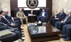 الحاج حسن:ناقشنا مع قائد الجيش الوضع الأمني ببعلبك-الهرمل وننتظر الأفعال