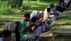 آلاف المشرّدين يفترشون ملاجئ الإغاثة جراء تسونامي إندونيسيا