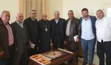 """المطران درويش تلقى دعوة من حركة """"أمل"""" للمشاركة في """"يوم القسم"""""""