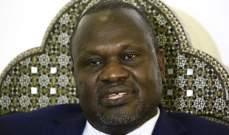 زعيم المتمردين بجنوب السودان وصل إلى العاصمة جوبا للمرة الأولى منذ 2016