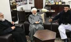 ماهر حمود استقبل وفدا من القوى الاسلامية في مخيم عين الحلوة