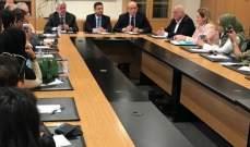 لجنة السياحة في المجلس الاقتصادي الاجتماعي تستقبل وفداً سعودياً