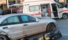 النشرة: جريح بحادث سير في منطقة الشرحبيل في بقسطا