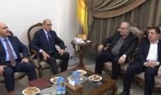 ابو الحسن بعد لقاء رعد: يبدو أن هناك ما يبشر بالخير ونتمنى ولادة الحكومة قريبا