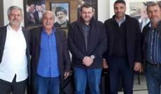 وفد من حزب الله زار مخاتير حارة صيدا