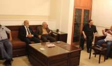 أسامة سعد يلتقي وفدا من الحركة الوطنية للتغيير الديمقراطي برئاسة نعمان