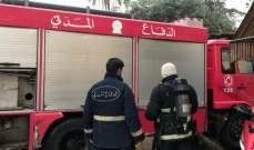 إخماد حريق داخل كاراج لطلاء السيارات في غزة وآخر داخل شقة في عين الدلبة