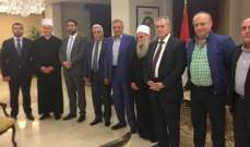 السفير السوري أقام إفطاراً تكريمياً على شرف الشيخ الغريب
