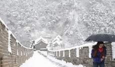 سلطات الصين حذرت من موجة ثانية من الثلوج ستجتاح مناطق عدة في البلد