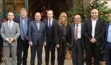 أبي رميا أمام وفد نيابي فرنسي: نسعى لتفعيل العلاقة بين لبنان وفرنسا بمختلف المجالات