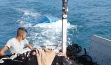 """مصدر عسكري يكشف لـ""""النشرة"""" تفاصيل غرق المركب قبالة الشاطىء في عكار"""