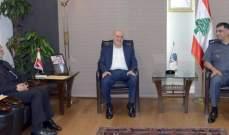 اللواء عثمان عرض مع شري والموسوي الأوضاع العامة