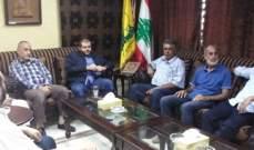 حزب الله إستقبل وفد المبادرة الشعبية الفلسطينية