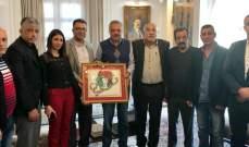 أرسلان بحث مع وفد من الجبهة الشعبية لتحرير فلسطين بالمستجدات المحلية والإقليمية