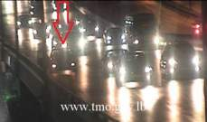 التحكم المروري: تعطل سيارة على جسر الدورة وحركة المرور كثيفة