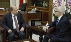 الرئيس عون استقبل السفير الروسي وعرض معه الاوضاع العامة