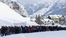 يمينيون يغلقون ممرا بين فرنسا وإيطاليا لمنع الهجرة