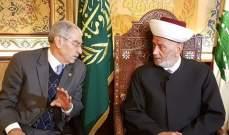عبد العزيز التقى دريان: الانتخابات النيابية ستجري في موعدها