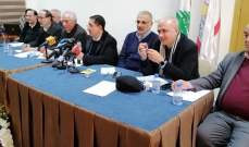 الحاج حسن وزعيتر أكدا لاتحاد بلديات بعلبك العمل على تنفيذ المشاريع التنموية