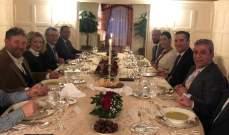 الوفد النيابي اللبناني يواصل لقاءاته مع المسؤولين الألمان