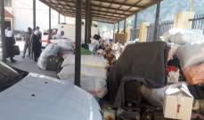 النشرة: عدد النازحين العائدين إلى سوريا من شبعا وصل إلى 950 شحصا