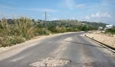 النشرة: أشغال على طريق برج الشمالي- الناقورة وفتح الطريق عبر مسلك واحد