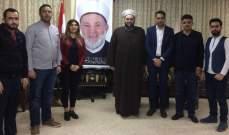 جبري بشبد بعمق العلاقات الأخوية بين الشعبين اللبناني والسوري