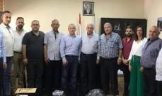 إنتخاب رئيس ونائب رئيس لمجالس بلدية في عكار