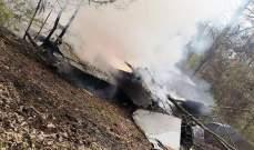 تحطم طائرة تابعة للقوات الجوية البولندية في محافظة مازوفيتسي في بولندا