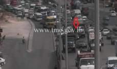 التحكم المروري: تصادم على جسر انطلياس باتجاه جل الديب والاضرار مادية