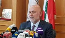 فنيانوس: المطلوب من الشمال ان تكون مستعدة لورشة إعمار سوريا