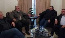 """نائب أمين حركة أنصار الله استقبل وفدا من """"حزب الله"""""""