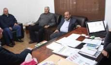 اجتماع للهيئة الادارية لجمعية تجار محافظة النبطية