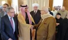 البخاري ادى صلاة الجمعة في مسجد الحاج بهاء الدين الحريري في صيدا