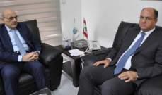 وزير الزراعة استقبل الأمين العام للمجلس الأعلى السوري اللبناني