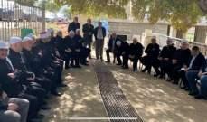 لجنة تواصل المجلس المذهبي جالت في راشيا