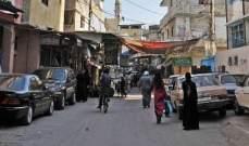 """إحتجاجات فلسطينية في عين الحلوة على """"المحسوبية"""" في دفع الأموال على المتضررين"""