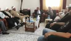 هاشم: نتطلع الى الحكومة العتيدة لتحمل معها خطة انمائية للمنطقة الحدودية