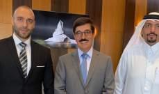 وصول وزير دولة قطري عى رأس وفد الى بيروت للمشاركة في مراسم جنازة صفير