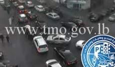 التحكم المروري: حركة المرور كثيفة على شارع فردان بيروت