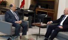 الرئيس عون استقبل عصام سليمان وسمير حمود