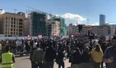 النشرة: الجيش يمنع المتظاهرين من الإنتقال من ساحة الشهداء إلى الحمرا