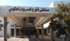موظفو مستشفى فتوح كسروان الحكومي:الإقفال التام والشامل لحين إقرار السلسلة