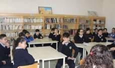 عقل زار ثانوية مار أنطونيوس حمانا متابعةً لمشروع الوقاية من الفساد