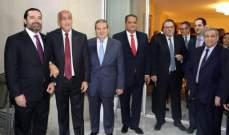 الحريري: لبنان قادر على الخروج من الجمود السياسي ونحن نعيش بأزمة نأمل أن تُحل