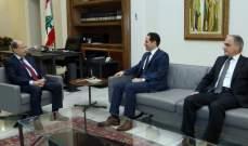 الرئيس عون استقبل رئيس حزب الكتائب النائب سامي الجميل