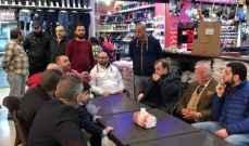 البزري تفقد الأسواق التجارية في مدينة صيدا
