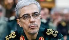 باقري: تهديدات الاستكبار لن ترهب إيران التي عبأت طاقاتها لمواجهة الإرهاب